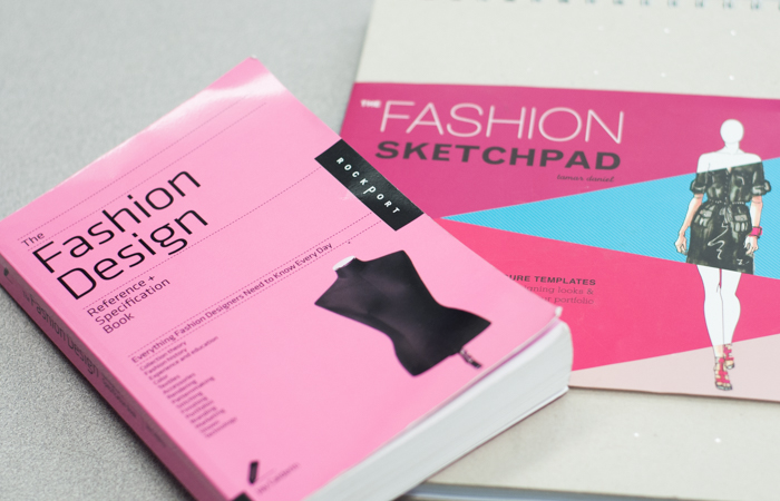 Students learn fashion design vocabulary, history, and theory.